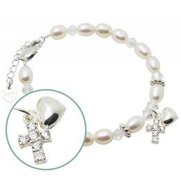 KAYA Silver bracelet faith 'Sparkles de Luxe'