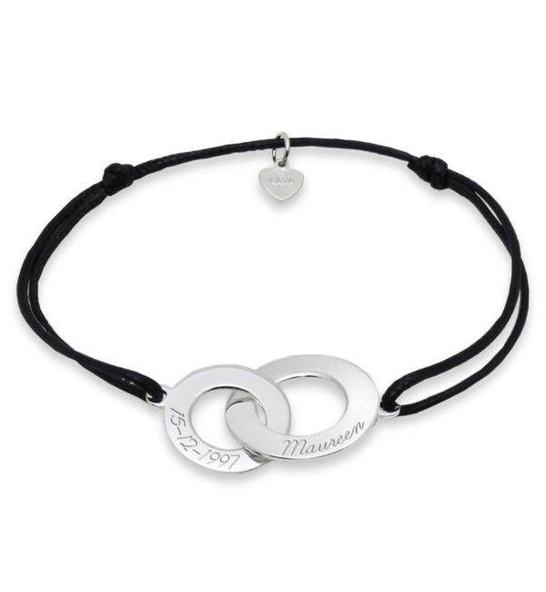 KAYA sieraden Personalized bracelet 'Entwined' - Copy