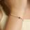 KAYA sieraden Kinderarmband 'Lieveheersbeestje' l Sterling Zilver