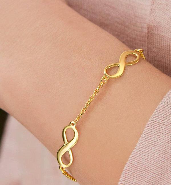 KAYA sieraden Gepersonaliseerde Armband '3 Namen'