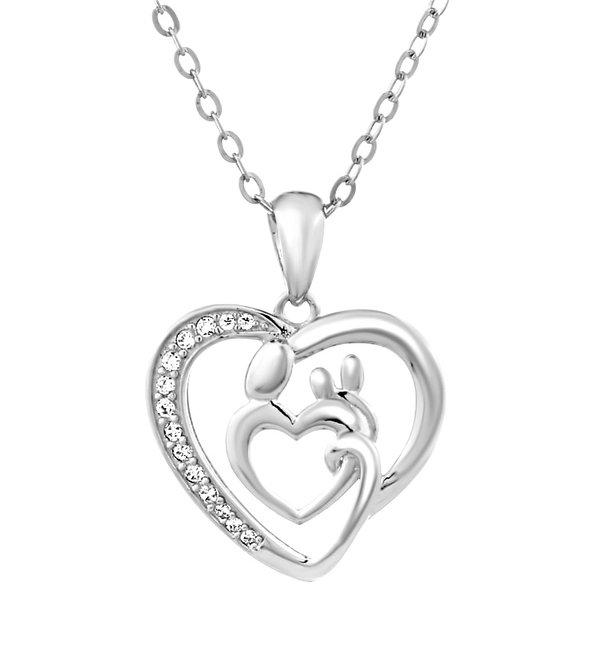 KAYA sieraden Silver Chain Bracelet 'Ask yourself together' - Copy - Copy - Copy - Copy - Copy