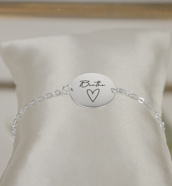 Sieraden graveren Bracelet with own handwriting - Copy - Copy - Copy