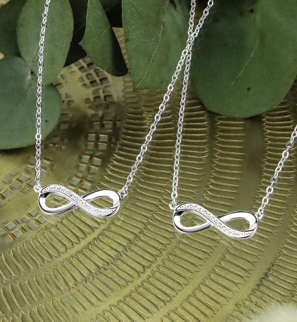KAYA sieraden Silver chains 'Forever'