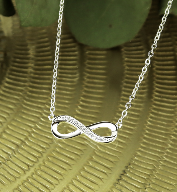 KAYA sieraden Matching Set Kettingen 'Infinity Crystal'