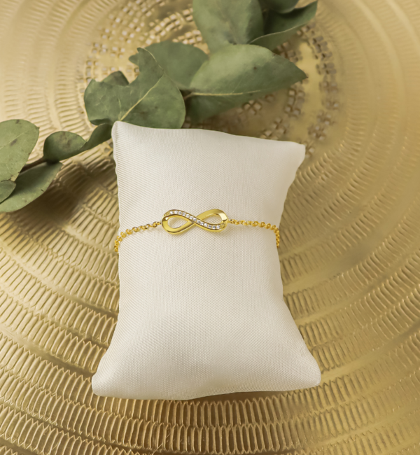 KAYA sieraden Cadeaudoosje 'Zusjes' Infinity armband