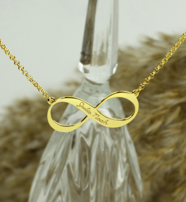 KAYA sieraden Infinity necklace silver 'Forever'