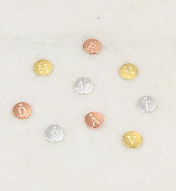 KAYA sieraden Mini Letter Bedeltjes  I Kies je kleur