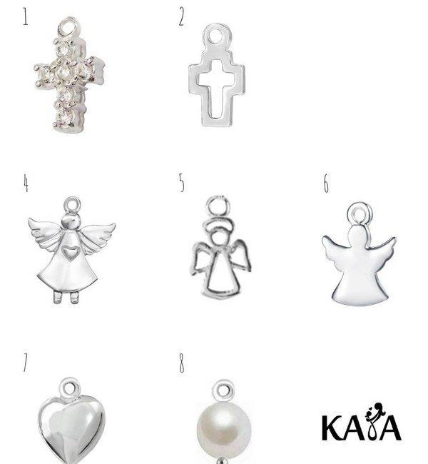 KAYA sieraden Ketting Communie 'Stel Zelf Samen' met bedels naar keuze