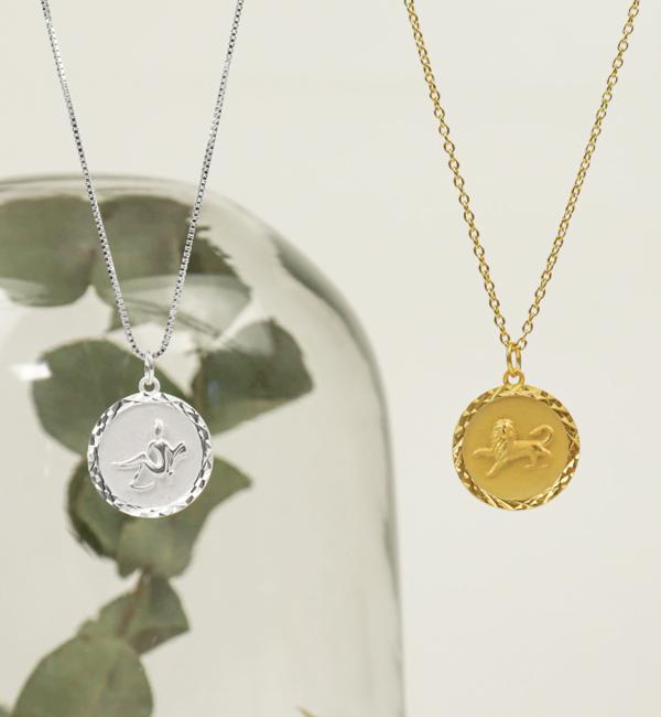 Sieraden graveren Subtle Necklace with Initals - Copy - Copy - Copy - Copy - Copy - Copy - Copy - Copy