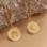 KAYA sieraden Subtle Necklace with Initals - Copy - Copy - Copy - Copy - Copy - Copy