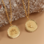 Sieraden graveren Subtle Necklace with Initals - Copy - Copy - Copy - Copy - Copy - Copy