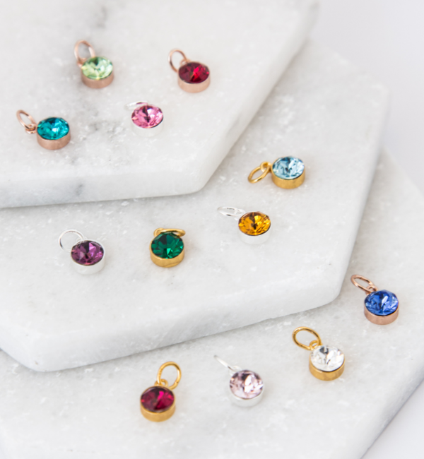 KAYA sieraden Necklace 'Circle of Life' with Birthstone