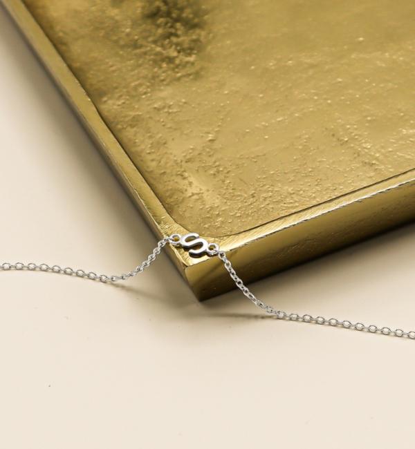 Gepersonaliseerde sieraden Armband met Letters naar Keuze