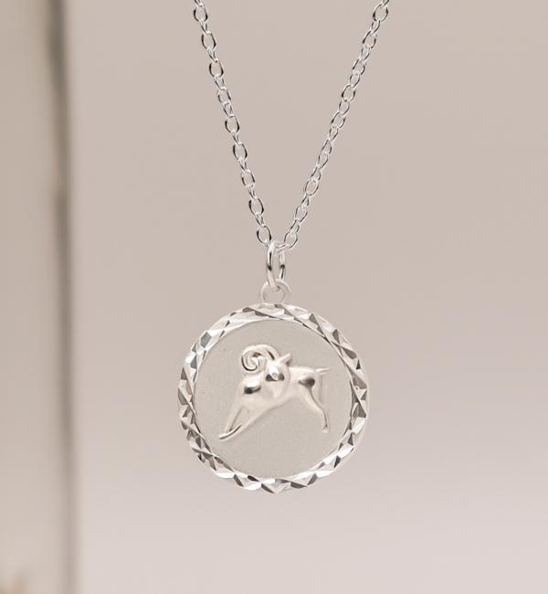 Sieraden graveren Subtle Necklace with Initals - Copy