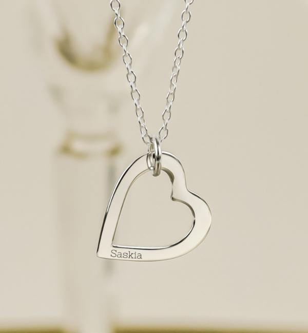 KAYA sieraden Mamakado: silver necklace 'Triple Eternity' - Copy - Copy - Copy - Copy