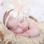 KAYA sieraden Baby bracelet 'Infinity' with sweet heart ball and Swarovski crystals - Copy