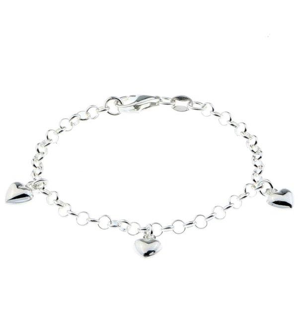 KAYA sieraden Infinity Silver Bracelet 'Necklace' - Copy - Copy - Copy - Copy - Copy