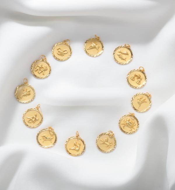 KAYA sieraden Ketting met Sterrenbeeld 'Leeuw'