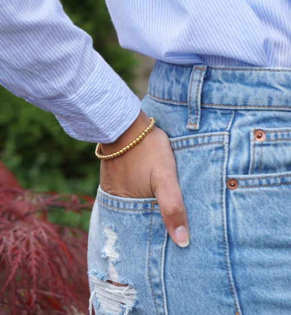 """KAYA sieraden 3 Silver Bracelets """"Ask yourself together ' - Copy - Copy"""