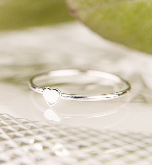 KAYA sieraden Silver Ring 'Lovely Heart'