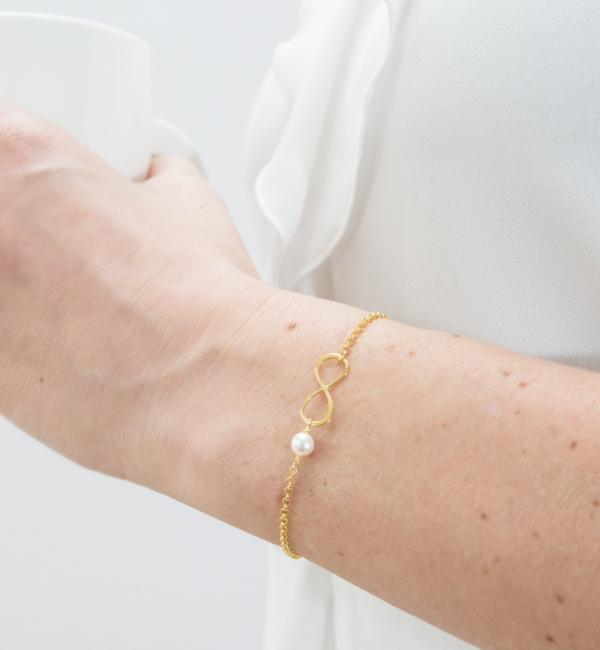 KAYA sieraden Armband met Wenskaart Dames naar Keuze