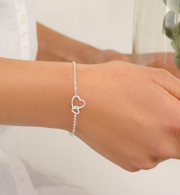 KAYA sieraden Armband met Wenskaart Doop naar Keuze