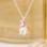 KAYA sieraden Zilveren Kinderketting 'Colorful Unicorn'