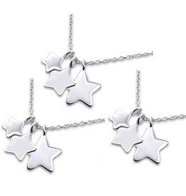 KAYA sieraden 3 generatie set 'Shining Star'