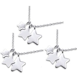 KAYA sieraden Silver Mom & Me chains 'Love you to the Stars & Back' - Copy