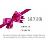 Gift certificate 15, 20, 30, 50 Euro