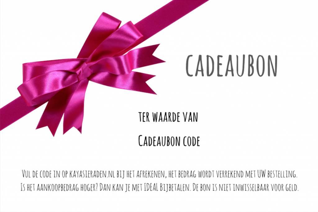 KAYA Gift certificate 15, 20, 30, 50 Euro