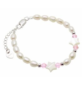 "KAYA Silver baby bracelet ""Little Star"" without charms"