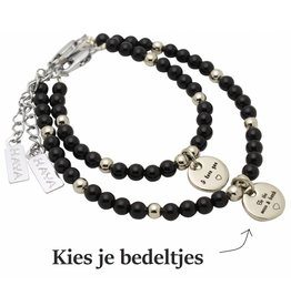 KAYA Mom & Me bracelets 'personal message'