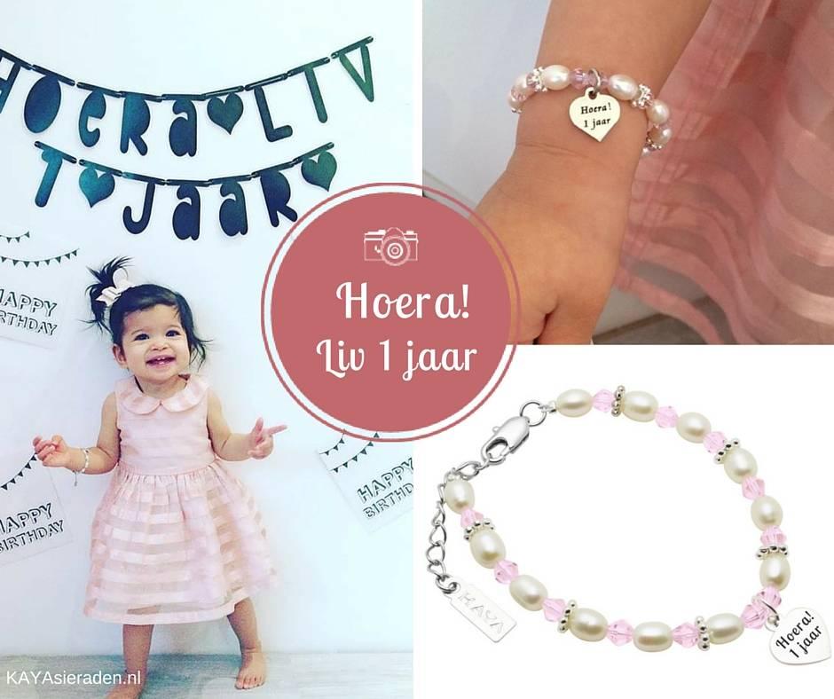 Vier de bijzondere momenten van je kindje met kindersieraden van KAYA