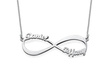 infinity jewelry collection (silver)