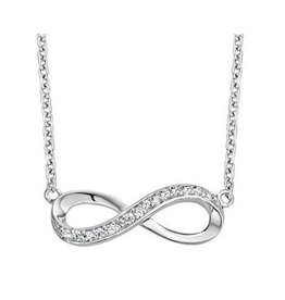 Infinity Silver Bracelet 'Necklace'