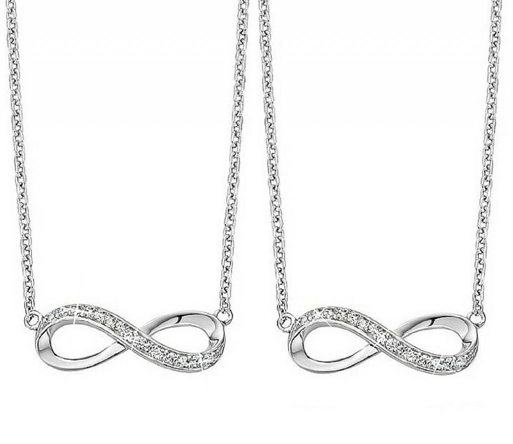 KAYA sieraden Zilveren kettingen 'Forever'