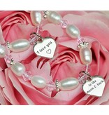 KAYA Text silver charm bracelet or necklace ★ ★ for