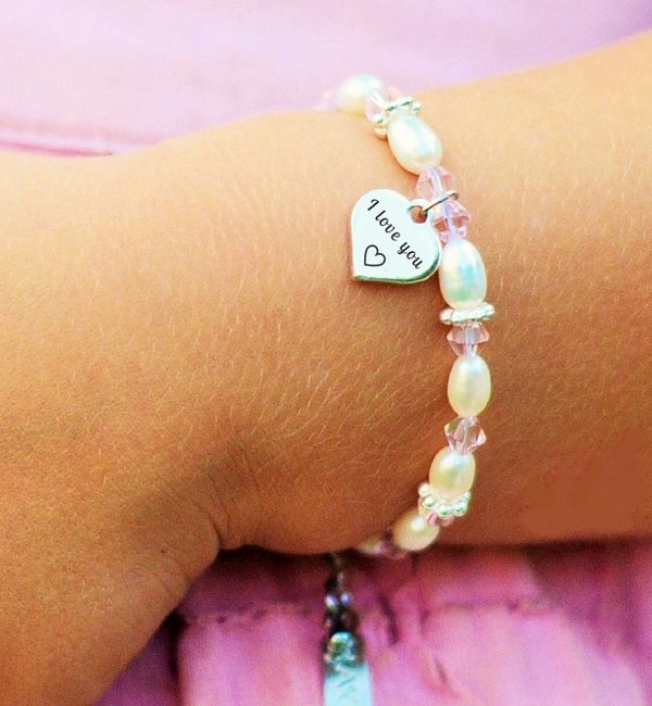 KAYA sieraden Text silver charm bracelet or necklace ★ ★ for