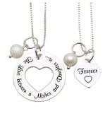 "KAYA Mom & Me necklaces ""The love between Mom & Daughter '"