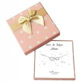 KAYA sieraden Cadeaudoosje 'Voor de liefste mama' met armband Infinity Crystal