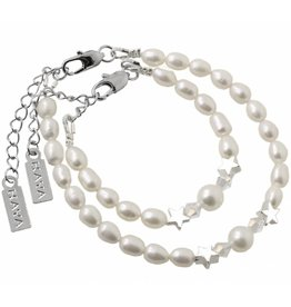 KAYA sieraden Mother daughter set 'Mermaid Pearl'
