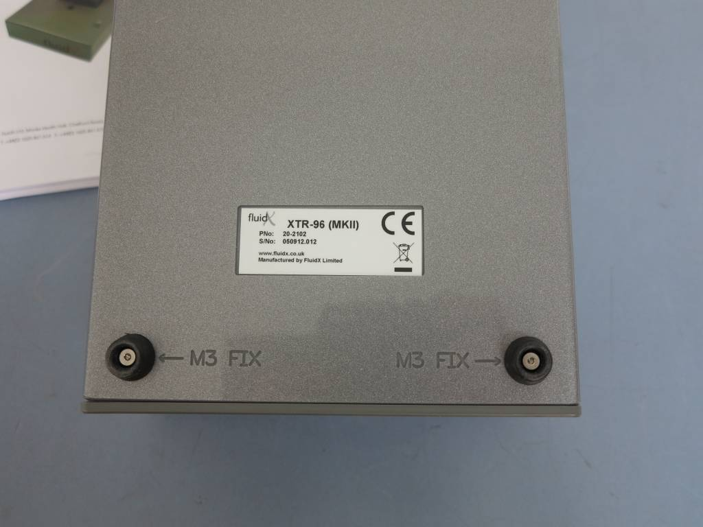 FluidX FLUIDX XTR-96 MKII 2D Tube Racks Reader