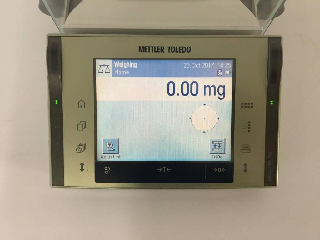 Mettler Toldeo Mettler Toledo XP205 Analytical Balance (220gr/0,01 mg)