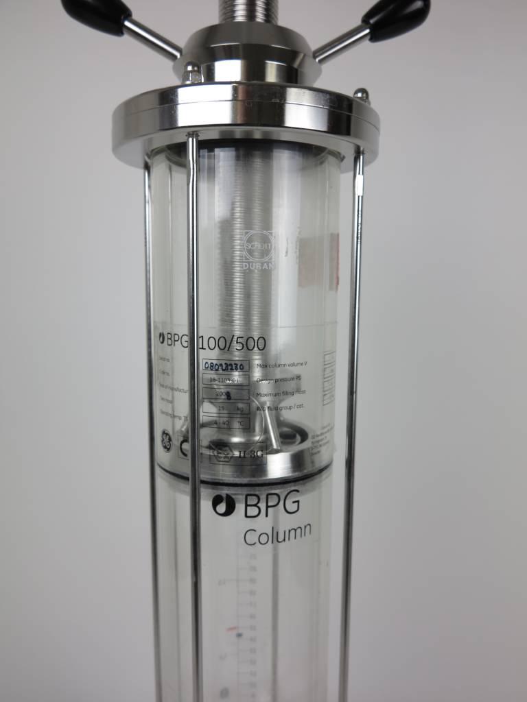 GE GE LifeSciences BPG 100/500 Chomatographie Säule