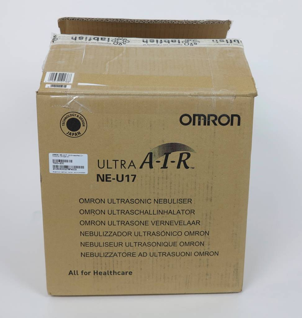 Omron Refurbished OMRON NE-U17 Ultrasonic Nebulizer