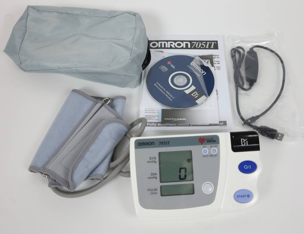 Omron Omron 705IT Automatisches Oberarm-Blutdruckmessgerät