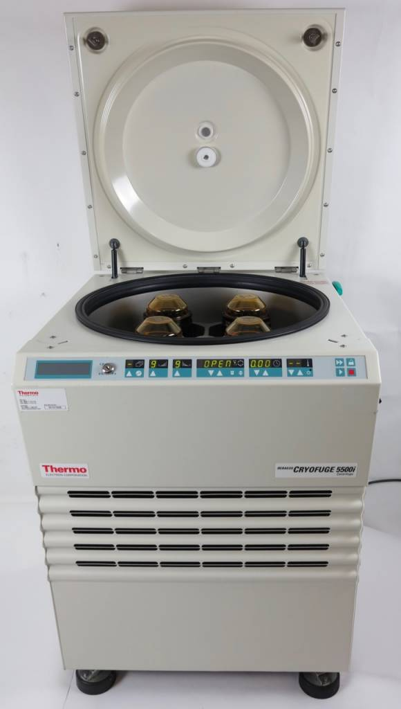 Thermo Scientific Used Thermo Heraeus Cryofuge 5500i Floor Centrifuge for Blood Bags