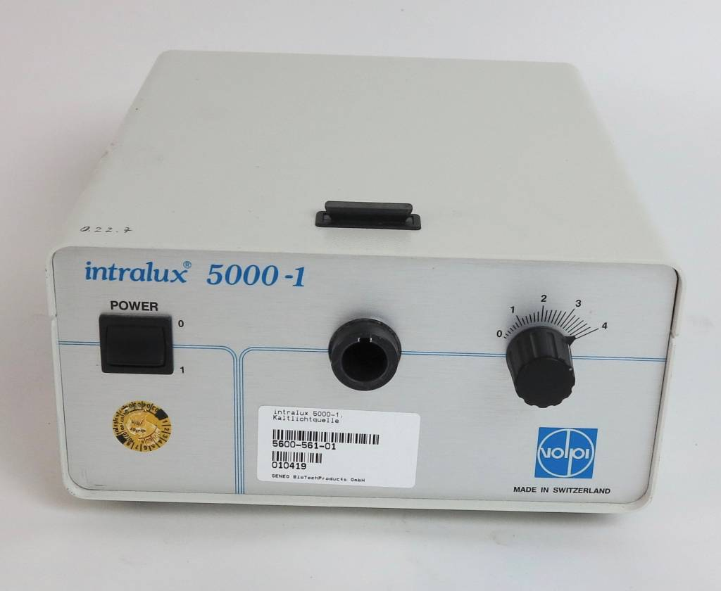 Volpi Used Volpi Intralux 5000-1 Microscope Cold Ligh Source