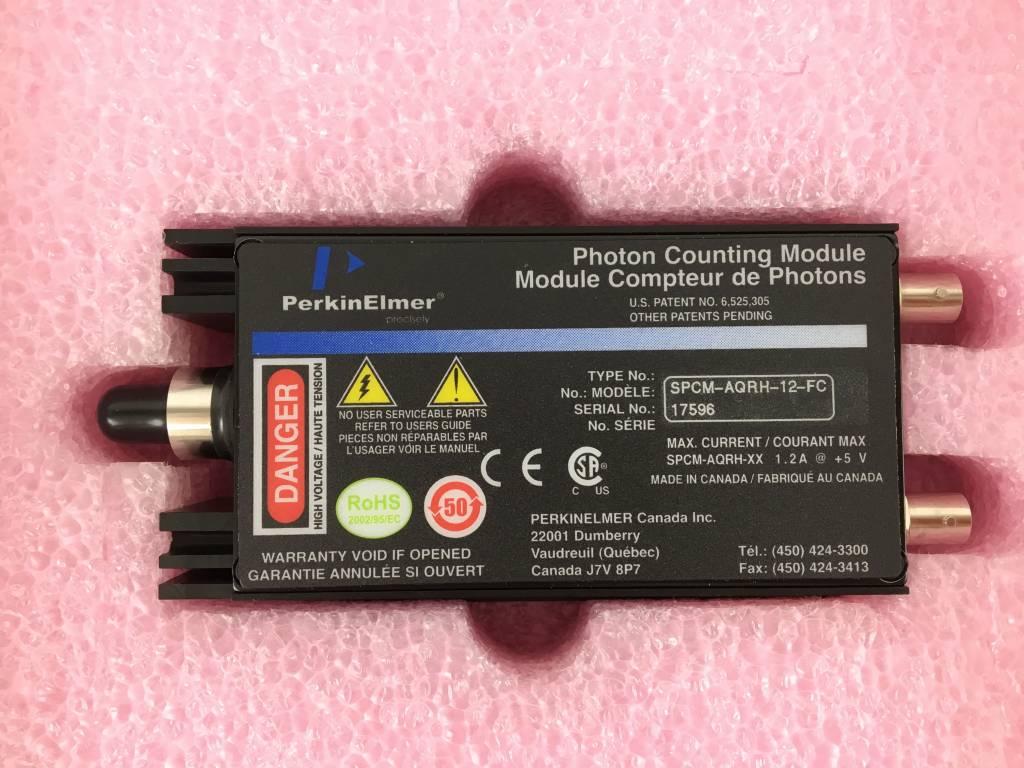 Perkin Elmer Photon  Counting Module SPCM-AQRH-12-FC